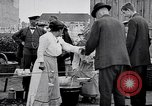 Image of German Army distributes food to youth in World War 1 Berlin Germany, 1914, second 8 stock footage video 65675027378