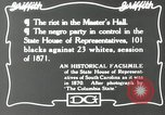Image of Negro legislature South Carolina United States USA, 1916, second 6 stock footage video 65675027384
