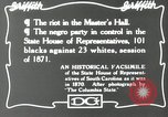 Image of Negro legislature South Carolina United States USA, 1916, second 8 stock footage video 65675027384