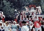 Image of Liberty Bell float Washington DC USA, 1976, second 12 stock footage video 65675027394