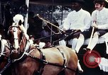 Image of horse drawn carriage Washington DC USA, 1976, second 4 stock footage video 65675027398