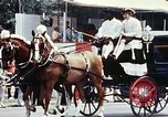 Image of horse drawn carriage Washington DC USA, 1976, second 9 stock footage video 65675027398