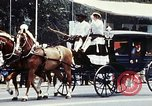 Image of horse drawn carriage Washington DC USA, 1976, second 11 stock footage video 65675027398