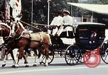 Image of horse drawn carriage Washington DC USA, 1976, second 12 stock footage video 65675027398