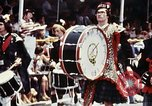 Image of band in kilts Washington DC USA, 1976, second 3 stock footage video 65675027399
