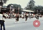 Image of band in kilts Washington DC USA, 1976, second 12 stock footage video 65675027399