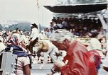 Image of train float Washington DC USA, 1976, second 8 stock footage video 65675027400