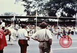 Image of train float Washington DC USA, 1976, second 10 stock footage video 65675027400