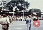 Image of train float Washington DC USA, 1976, second 11 stock footage video 65675027400