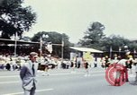 Image of train float Washington DC USA, 1976, second 12 stock footage video 65675027400