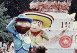 Image of parade float Washington DC USA, 1976, second 2 stock footage video 65675027402