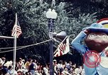 Image of parade float Washington DC USA, 1976, second 4 stock footage video 65675027402