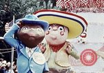 Image of parade float Washington DC USA, 1976, second 9 stock footage video 65675027402