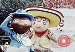 Image of parade float Washington DC USA, 1976, second 10 stock footage video 65675027402
