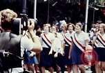Image of youth in sashes Washington DC USA, 1976, second 2 stock footage video 65675027403