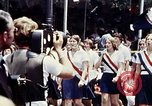 Image of youth in sashes Washington DC USA, 1976, second 4 stock footage video 65675027403