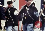 Image of marching band Washington DC USA, 1976, second 6 stock footage video 65675027404