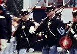 Image of marching band Washington DC USA, 1976, second 7 stock footage video 65675027404
