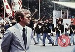 Image of marching band Washington DC USA, 1976, second 8 stock footage video 65675027404