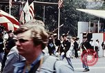 Image of marching band Washington DC USA, 1976, second 9 stock footage video 65675027404