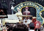 Image of parade Washington DC USA, 1976, second 5 stock footage video 65675027407