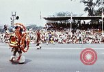 Image of parade participants Washington DC USA, 1976, second 10 stock footage video 65675027408
