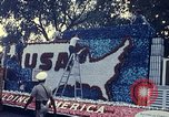 Image of Bicentennial parade float Washington DC USA, 1976, second 2 stock footage video 65675027415