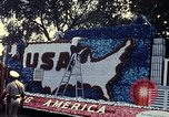 Image of Bicentennial parade float Washington DC USA, 1976, second 3 stock footage video 65675027415