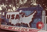 Image of Bicentennial parade float Washington DC USA, 1976, second 4 stock footage video 65675027415