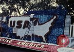Image of Bicentennial parade float Washington DC USA, 1976, second 11 stock footage video 65675027415