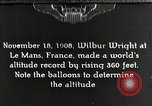 Image of Wilbur Wright Le Mans France, 1942, second 1 stock footage video 65675027438