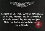 Image of Wilbur Wright Le Mans France, 1942, second 2 stock footage video 65675027438