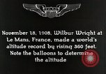 Image of Wilbur Wright Le Mans France, 1942, second 3 stock footage video 65675027438