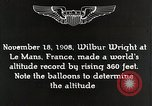 Image of Wilbur Wright Le Mans France, 1942, second 5 stock footage video 65675027438