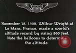 Image of Wilbur Wright Le Mans France, 1942, second 6 stock footage video 65675027438