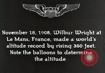 Image of Wilbur Wright Le Mans France, 1942, second 9 stock footage video 65675027438