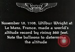 Image of Wilbur Wright Le Mans France, 1942, second 10 stock footage video 65675027438
