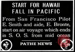 Image of pilot Smith and navigator Bronte Oakland California United States USA, 1927, second 1 stock footage video 65675027440