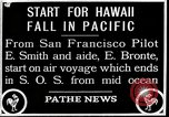 Image of pilot Smith and navigator Bronte Oakland California United States USA, 1927, second 3 stock footage video 65675027440