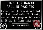 Image of pilot Smith and navigator Bronte Oakland California United States USA, 1927, second 6 stock footage video 65675027440