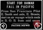 Image of pilot Smith and navigator Bronte Oakland California United States USA, 1927, second 7 stock footage video 65675027440