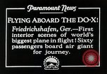Image of Do-X Friedrichshafen Germany, 1930, second 2 stock footage video 65675027460