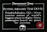Image of Do-X Friedrichshafen Germany, 1930, second 4 stock footage video 65675027460