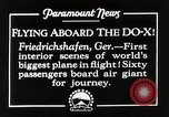 Image of Do-X Friedrichshafen Germany, 1930, second 7 stock footage video 65675027460