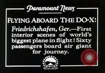 Image of Do-X Friedrichshafen Germany, 1930, second 8 stock footage video 65675027460