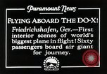 Image of Do-X Friedrichshafen Germany, 1930, second 9 stock footage video 65675027460
