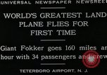 Image of men Teterboro airport New jersey USA, 1928, second 3 stock footage video 65675027464