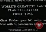 Image of men Teterboro airport New jersey USA, 1928, second 4 stock footage video 65675027464