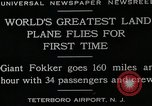 Image of men Teterboro airport New jersey USA, 1928, second 8 stock footage video 65675027464
