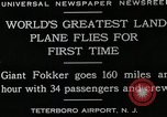 Image of men Teterboro airport New jersey USA, 1928, second 9 stock footage video 65675027464